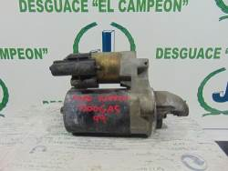 MOTOR ARRANQUE FORD FIESTA 1200 GAS TIPO GHC